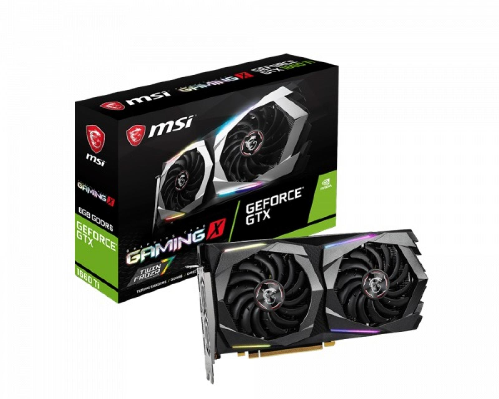 MSI GTX 1660 Ti Gaming X 6GB DDR6 192 Bit